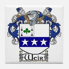 Weir Coat of Arms Tile Coaster