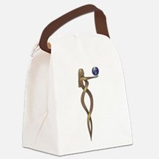 Knot Your World Canvas Lunch Bag