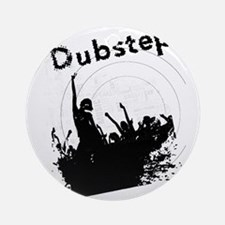 Dubstep Round Ornament