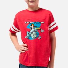 speed demon Youth Football Shirt