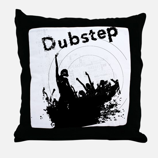 Dubstep Throw Pillow