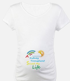 Kidney Transplant Rainbow Cloud Shirt