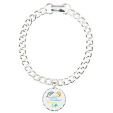 Kidney Transplant Rainbow Cloud Bracelet