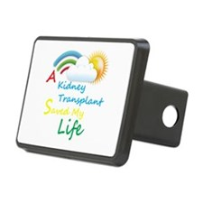 Kidney Transplant Rainbow Cloud Hitch Cover