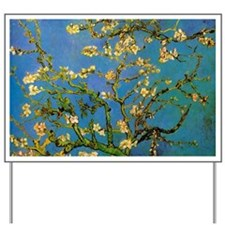 Blossoming Almond Tree by Vincent van Go Yard Sign