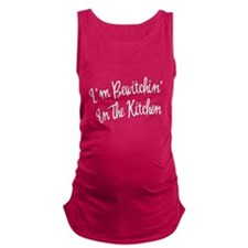 FIN-bewitchin-kitchen.png Maternity Tank Top