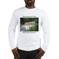 Tahquamenon Falls Summer Long Sleeve T-Shirt