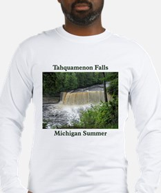 Tahquamenon Falls Summer Long Sleeve T-Shirt