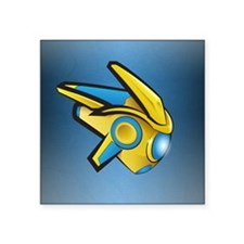 Fierce Protoss Drone SC2 Sticker