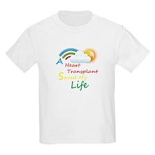 Heart Transplant Rainbow Cloud T-Shirt