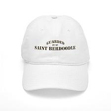 Saint Berdoodle: Guarded by Baseball Cap