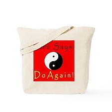 Sifu Says: Frontside Tote Bag
