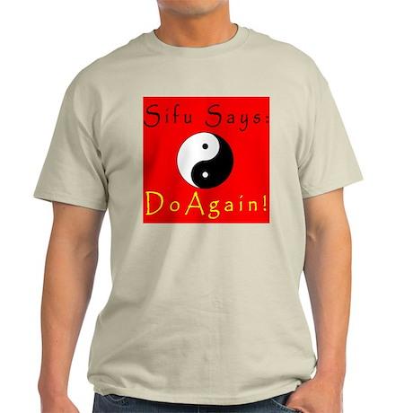 Sifu Says: Frontside Ash Grey T-Shirt