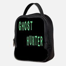 Ghost Hunter (Label Text) Neoprene Lunch Bag