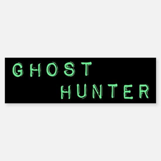 Ghost Hunter (Label Text) Sticker (Bumper)