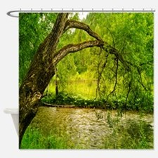 Secret Swimming Hole Shower Curtain