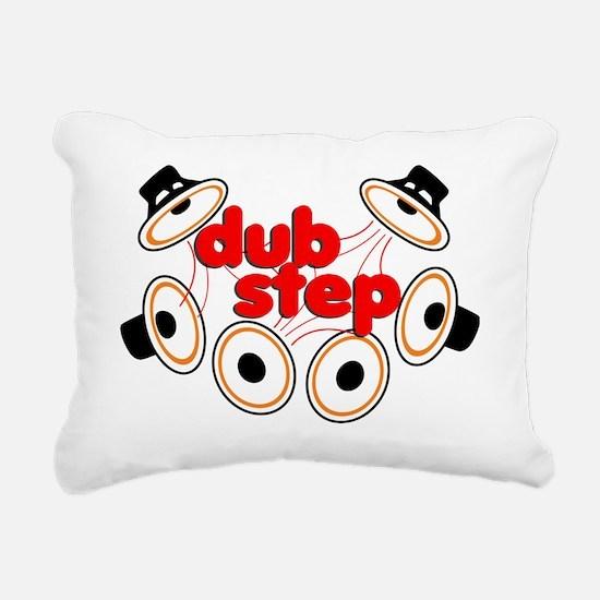 Dubstep Rectangular Canvas Pillow