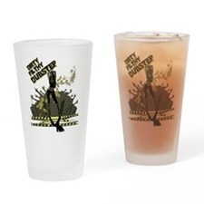 Funny Totoros Drinking Glass
