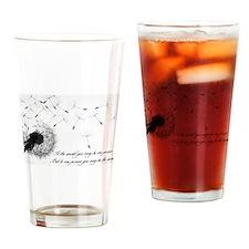 Dandelion Drinking Glass