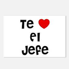 Te * El Jefe Postcards (Package of 8)