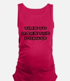 Make The Donuts Maternity Tank Top