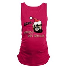 Santa Pirate Maternity Tank Top