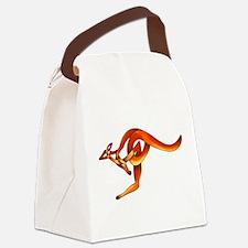 Kangaroo Canvas Lunch Bag