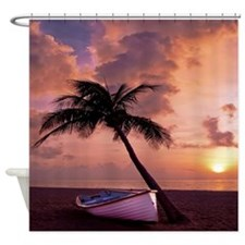 Beach Sunset4799SQ Shower Curtain