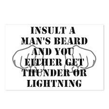 Thunder or Lightning Postcards (Package of 8)