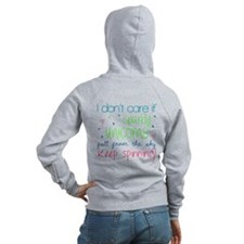 Color Guard Humorous Zip Hoodie