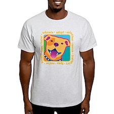 Bright Pittie T-Shirt