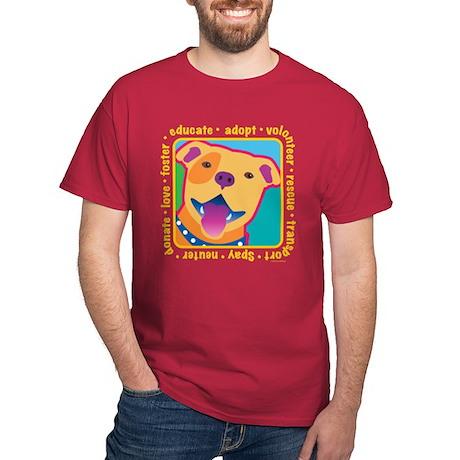 Bright Pittie Dark T-Shirt