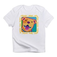 Bright Pittie Infant T-Shirt
