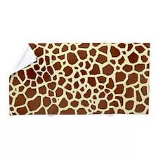 Giraffe Print Beach Towel