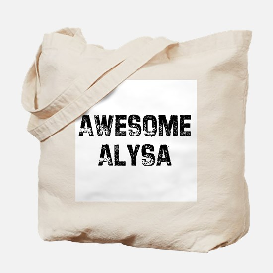 Awesome Alysa Tote Bag