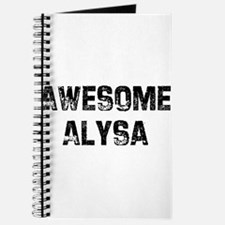 Awesome Alysa Journal