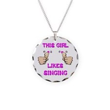 This Girl Likes Singing Necklace
