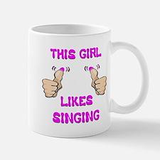 This Girl Likes Singing Mug