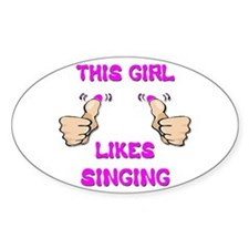 This Girl Likes Singing Decal