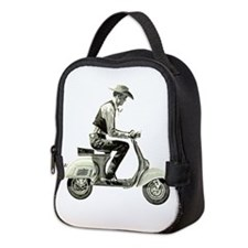 Scooter Cowboy! Neoprene Lunch Bag