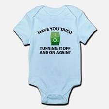 Have You Tried Turning It Off And On Again? Infant