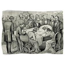 Death of General James A. Garfield - 1881 Pillow S