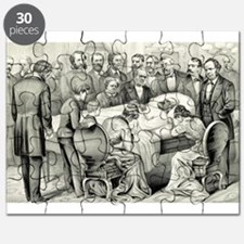 Death of General James A. Garfield - 1881 Puzzle