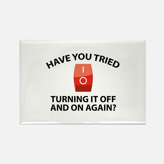 Have You Tried Turning It Off And On Again? Rectan