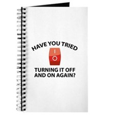 Have You Tried Turning It Off And On Again? Journa