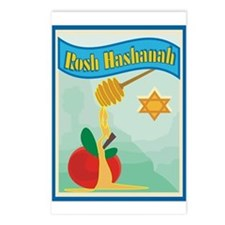 Rosh Hashanah Postcards (Package of 8)