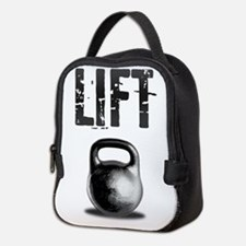 Kettlebell LIFT Workout Neoprene Lunch Bag