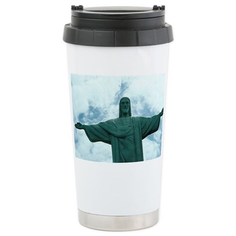Christ of the Andes Stainless Steel Travel Mug