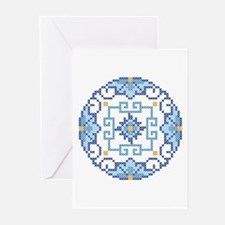 Oriental Medallion Greeting Cards (Pk of 10)