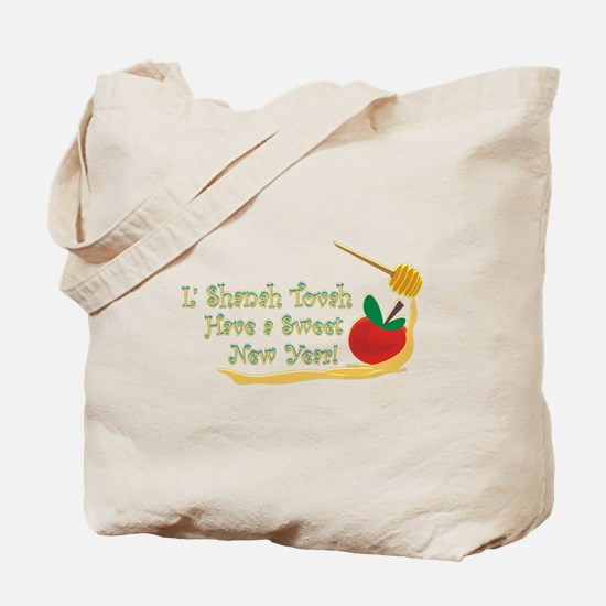 L Shanah Tovah Tote Bag